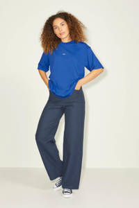 JJXX T-shirt JXANDREA met logo blauw, Blauw