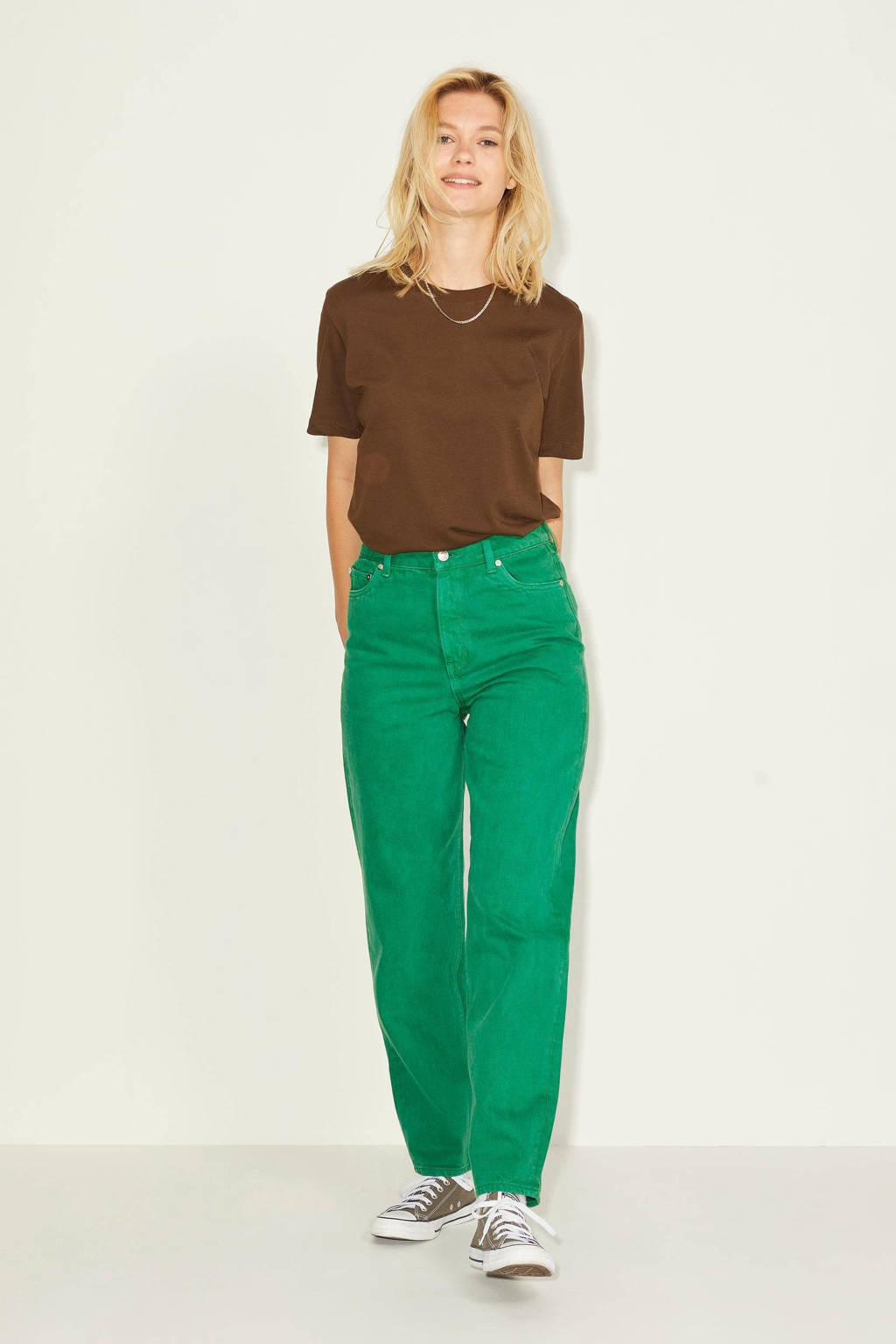 JJXX high waist mom jeans JXLISBON groen, Groen