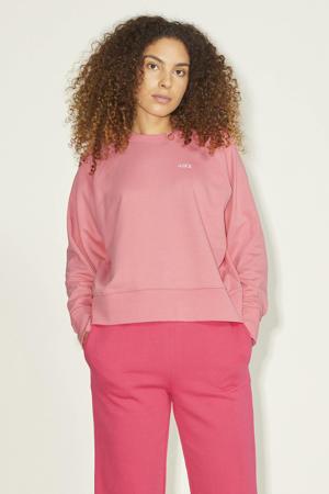 sweater JXCAITLYN van biologisch katoen oudroze