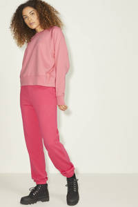 JJXX sweater JXCAITLYN van biologisch katoen oudroze, Oudroze