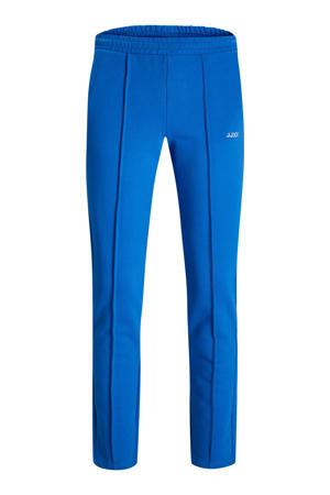 high waist straight fit broek JXCAMILLA van biologisch katoen blauw