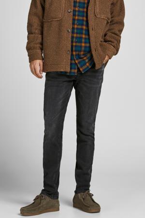 slim fit jeans JJIGLENN  JJORIGINAL black denim