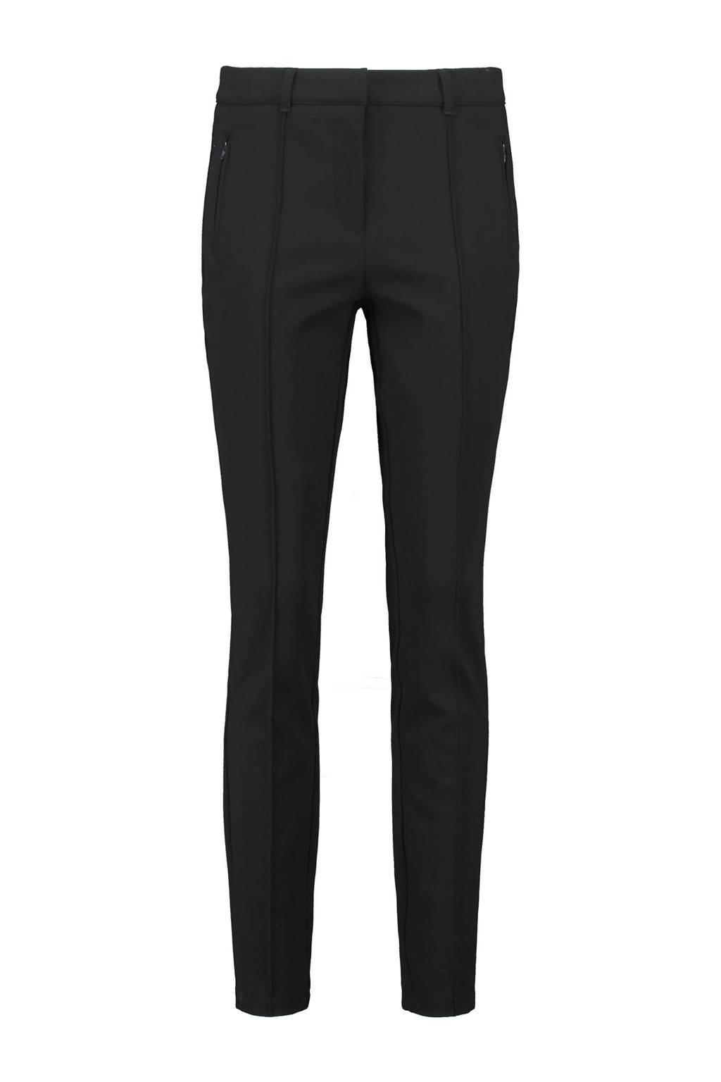 Expresso skinny pantalon zwart, Zwart