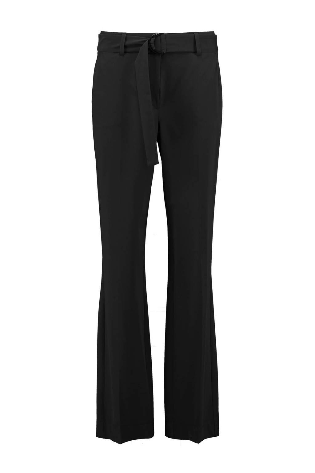Expresso loose fit pantalon zwart, Zwart