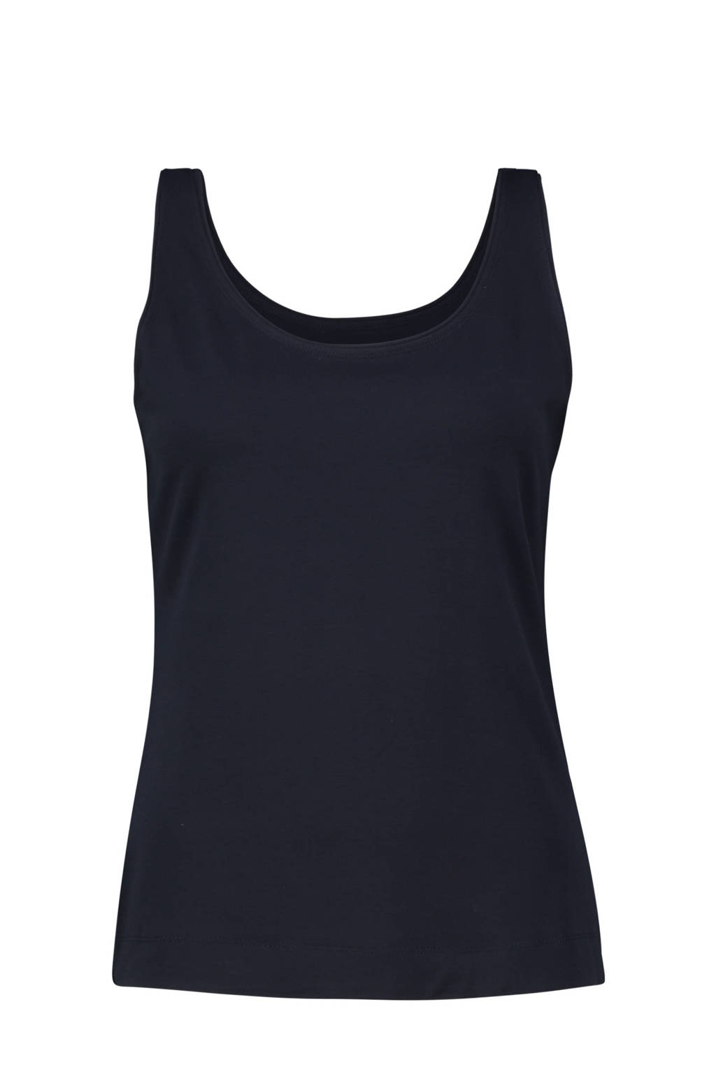 Claudia Sträter top donkerblauw, Donkerblauw