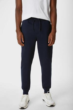 joggingbroek/shorts (set van 3) - zwart/ecru/donkerblauw