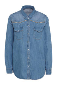 C&A blouse blauw, Blauw