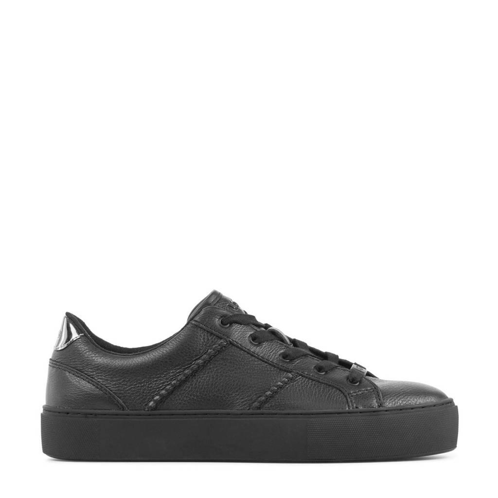 UGG Dinale 119589  leren sneakers zwart, Zwart