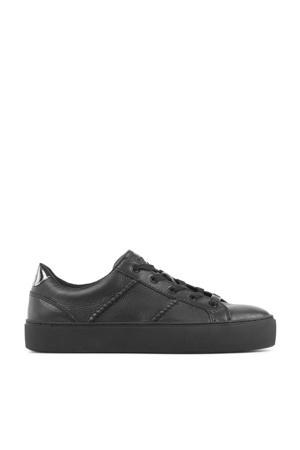Dinale 119589  leren sneakers zwart