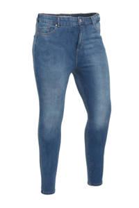 C&A XL Clockhouse high waist skinny jeans blauw, Blauw