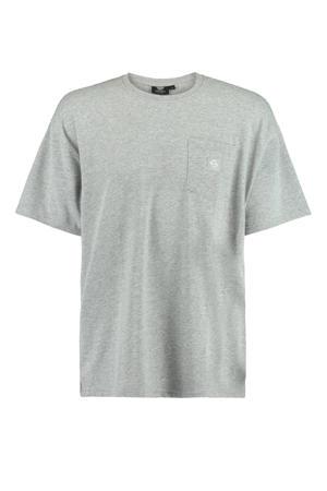 gemêleerd T-shirt Enter light grey melange