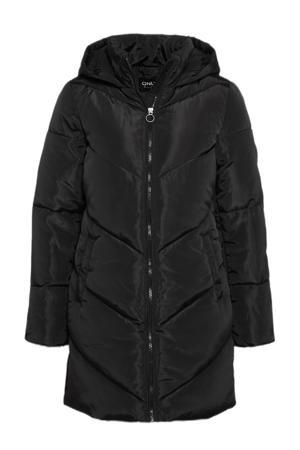 gewatteerde jas ONLMYNTE zwart