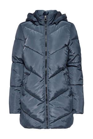 gewatteerde jas ONLMYNTE donkerblauw