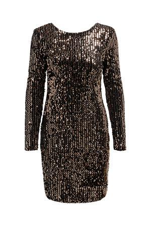 jurk ONLCONFIDENCE met pailletten brons