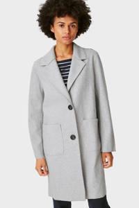 C&A The Outerwear  coat lichtgrijs, Lichtgrijs