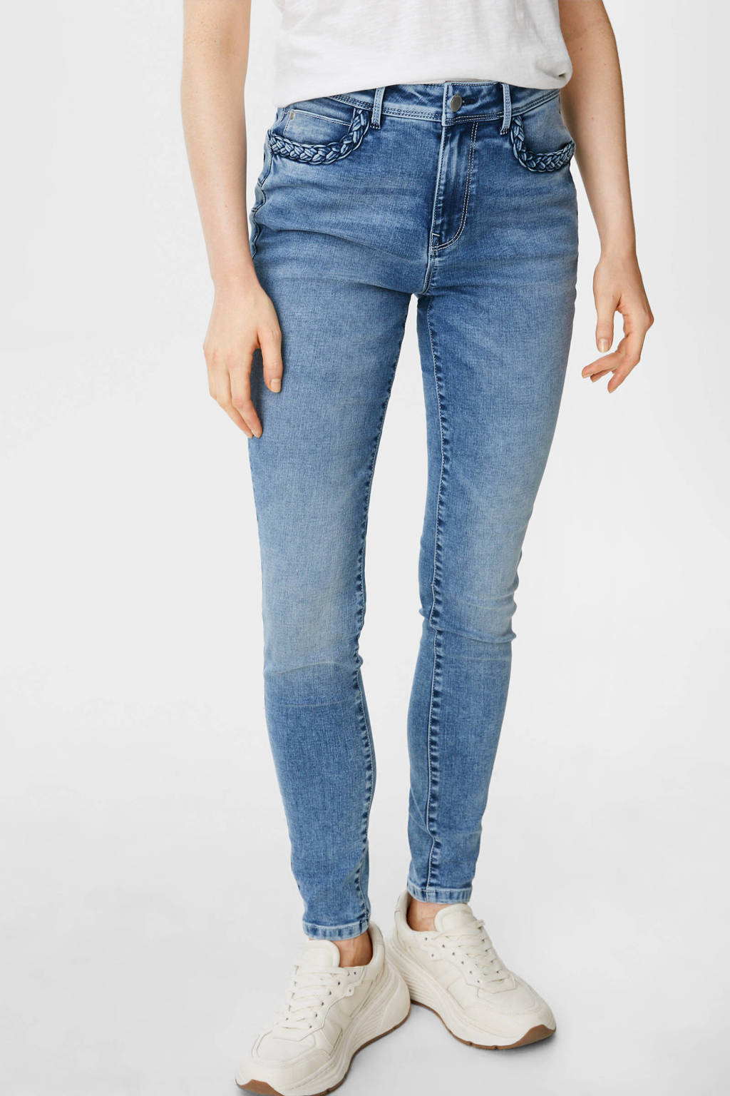 C&A skinny jeans light denim, Light denim