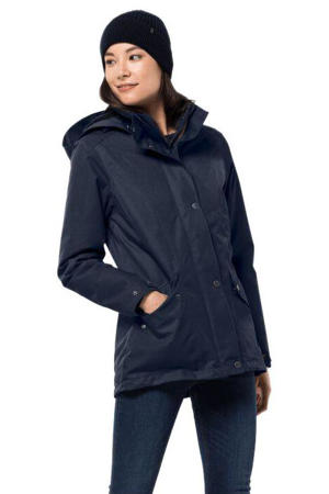 outdoor jas Park Avenue donkerblauw