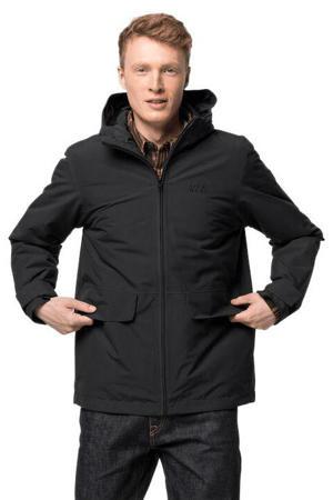 outdoor jas White Forest zwart