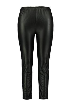imitatieleren skinny legging Tessa zwart