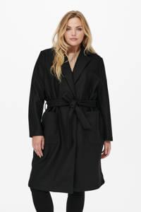 ONLY CARMAKOMA  coat CARTRILLION zwart, Zwart