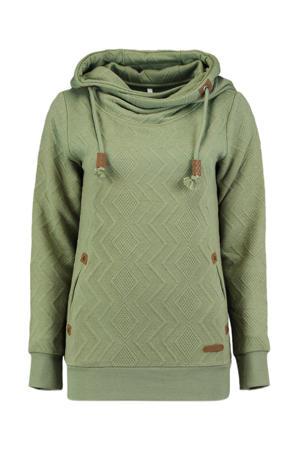 hoodie Janette groen