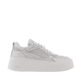 Bumpp-Inn  leren sneakers off white