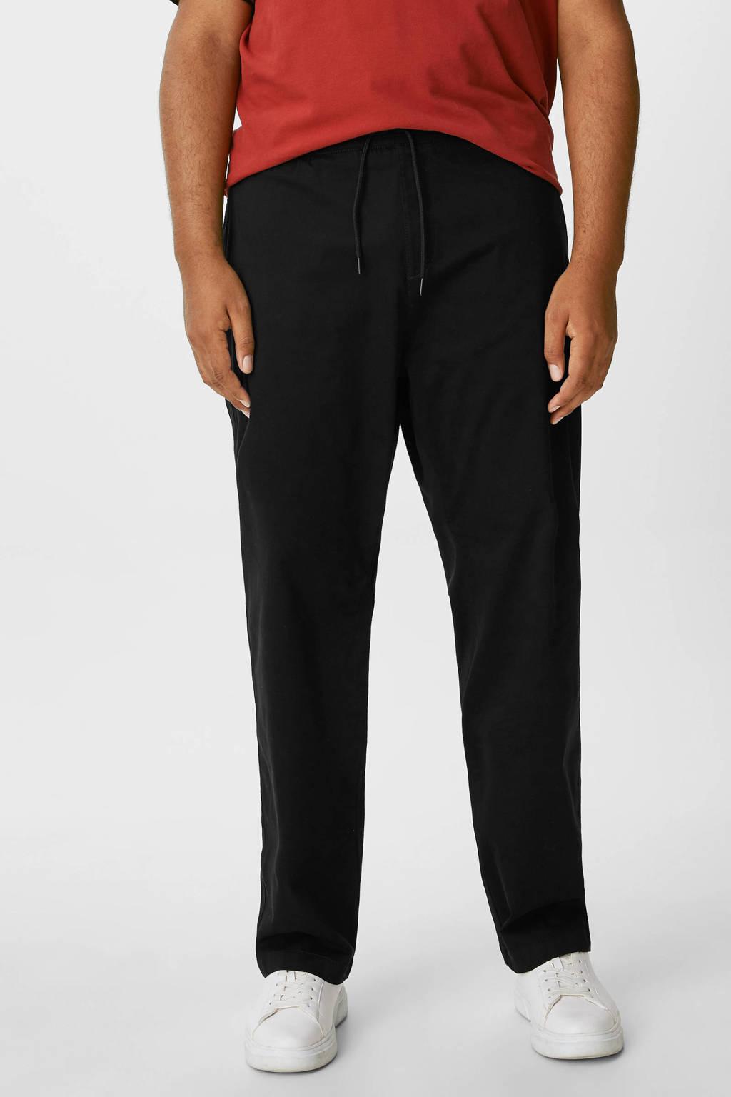 C&A XL regular fit broek donkerblauw, Donkerblauw