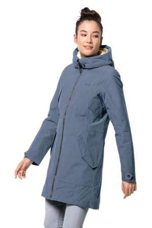 outdoor jas Rocky Point lichtblauw
