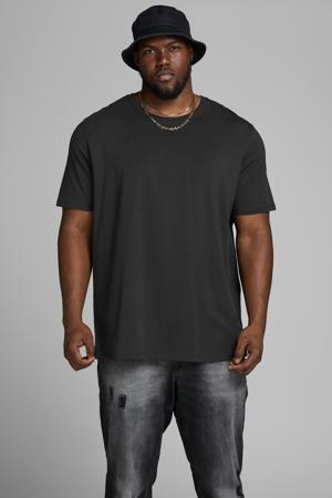 basic T-shirt JJEORGANIC Plus Size black