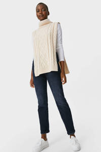 C&A straight fit jeans donkerblauw, Donkerblauw