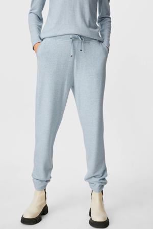skinny broek grijsblauw
