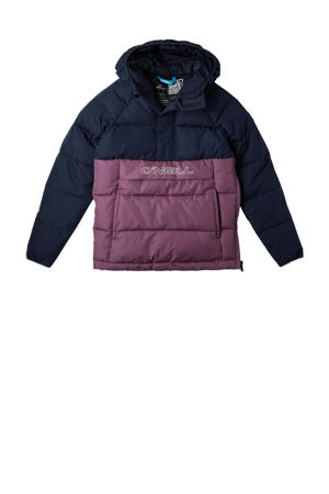 ski-jack Powder donkerblauw/paars