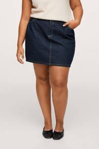 Mango Plus Size spijkerrok, Dark blue denim