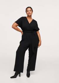 Mango Plus Size jumpsuit zwart, Zwart