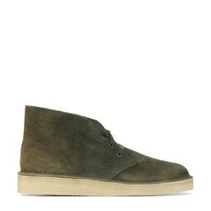 Desert Coal  suède desert boots groen