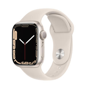 Watch Series 7 41mm smartwatch (Starlight)