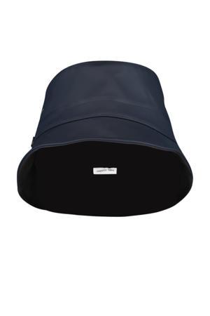 bucket hat donkerblauw