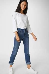C&A high waist slim fit jeans blauw, Blauw