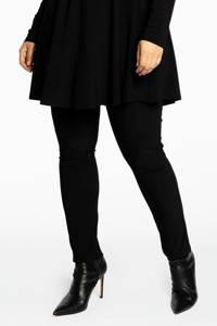 Yoek Loretta's Favourites skinny broek DOLCE zwart, Zwart
