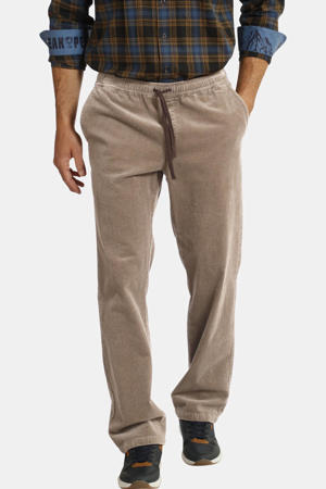 corduroy loose fit chino Plus Size beige