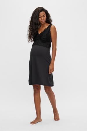 zwangerschapsnachthemd MLSOFIE zwart