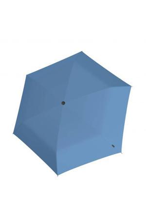 paraplu U200 Ultra Light Duomatic blauw/zwart