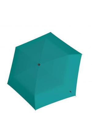 paraplu U200 Ultra Light Duomatic mintgroen/zwart