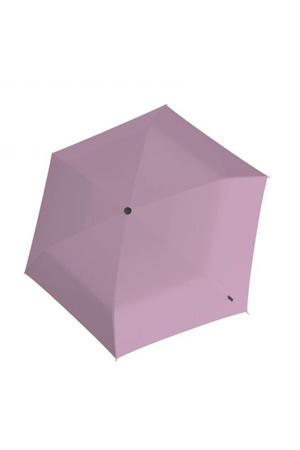 paraplu U200 Ultra Light Duomatic roze/zwart