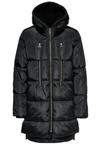 ONLY gewatteerde jas ONLNORA zwart, Zwart