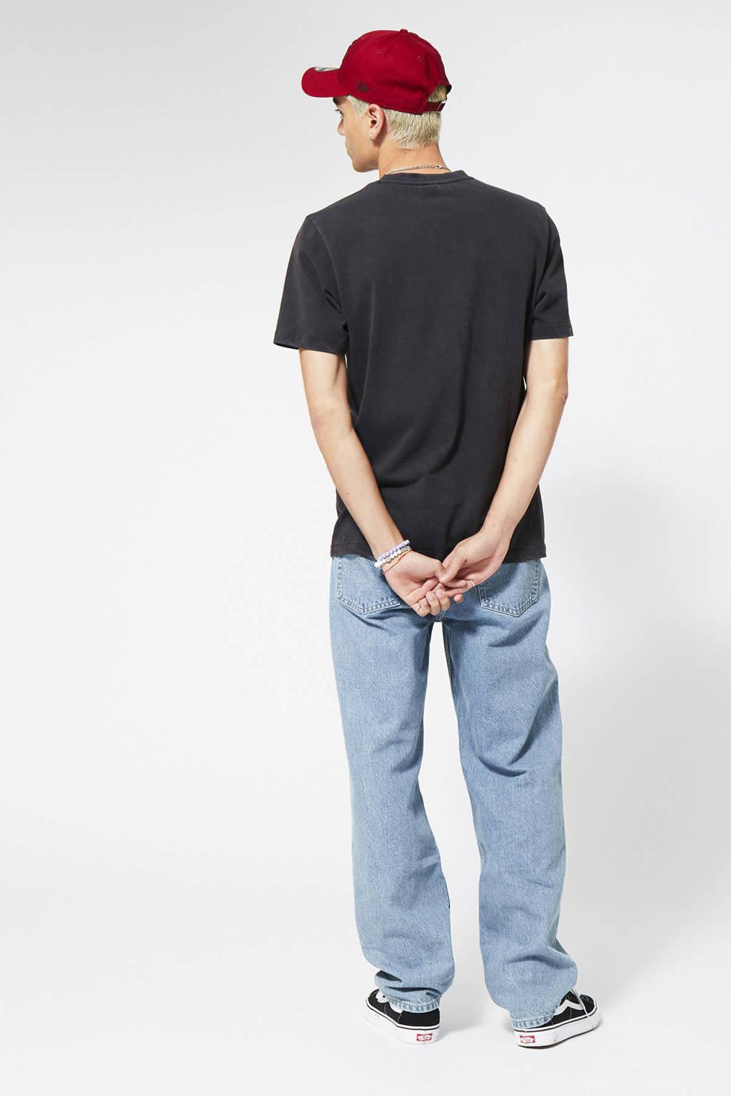 America Today T-shirt Erra van biologisch katoen washed black