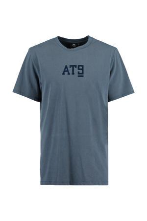 T-shirt Erra van biologisch katoen marine