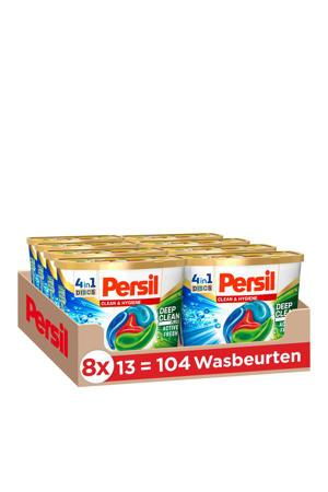Persil Discs Clean & Hygiene wasmiddel capsules - 104 wasbeurten - 104 wasbeurten