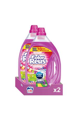 Color Reus Gel vloeibaar wasmiddel - 140 wasbeurten - 140 wasbeurten