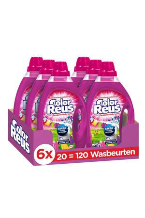 Color Reus Gel vloeibaar wasmiddel - 120 wasbeurten - 120 wasbeurten